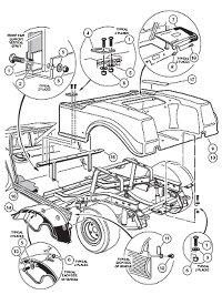 Club Car Rear Differential Diagram Wiring Diagrams